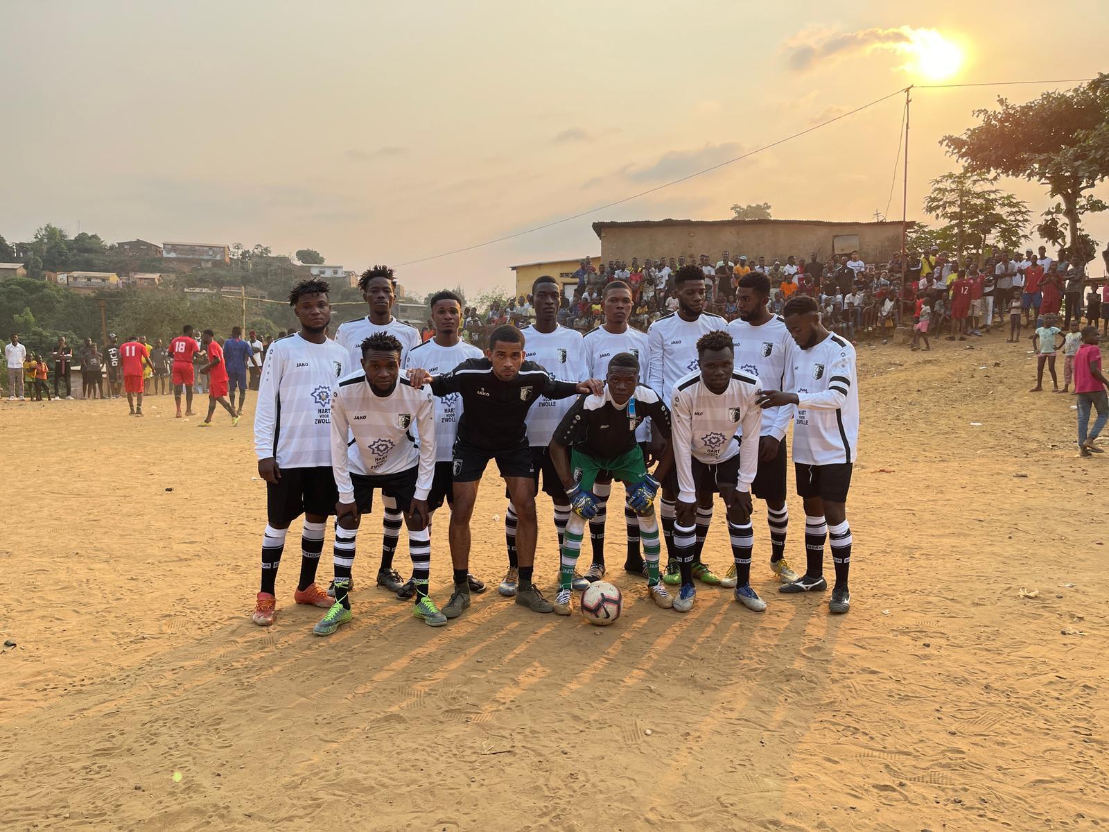 VV Berkum ondersteunt actie voor Congo