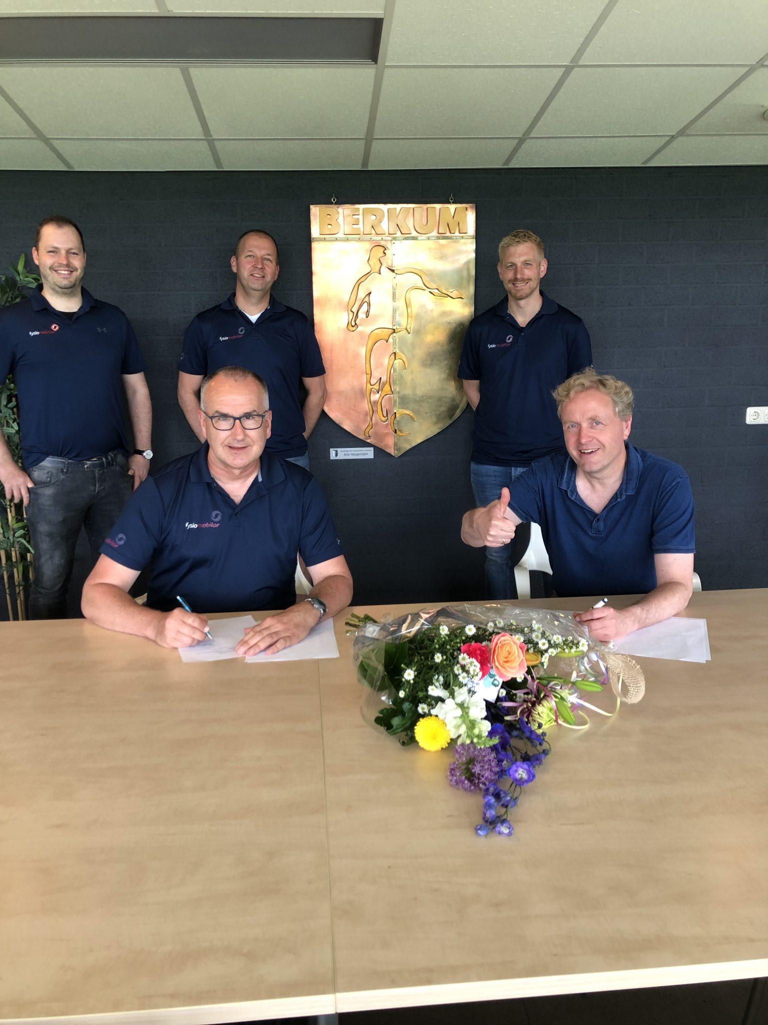 Fysiotherapie Fysiomobilae en VV Berkum breiden de samenwerking uit!