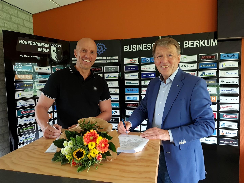 Schildersbedrijf Klappe wordt co-sponsor VV Berkum