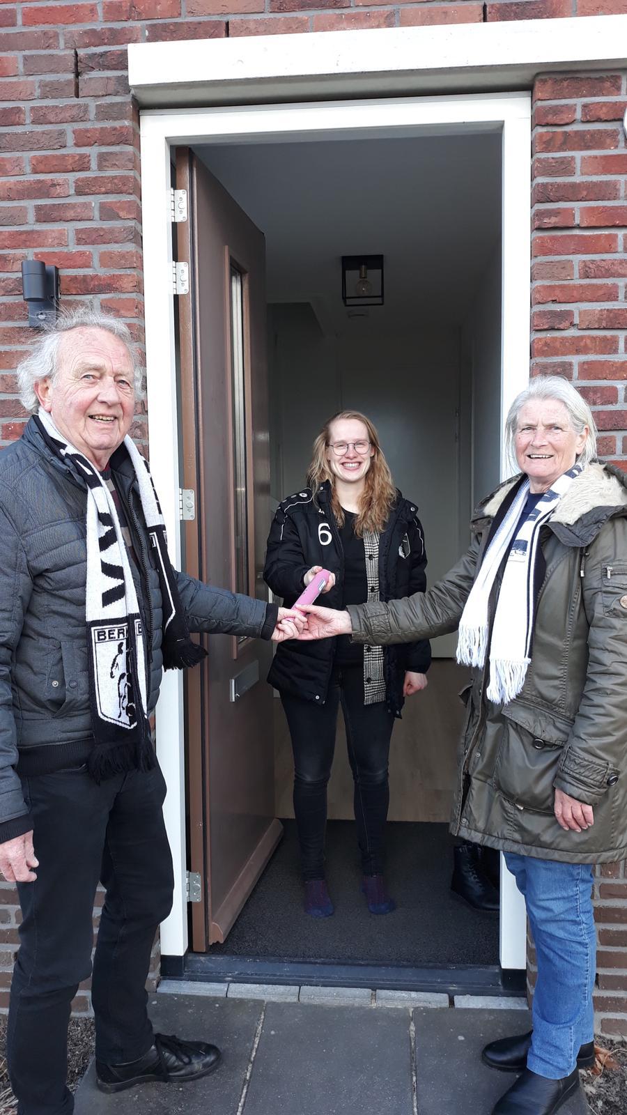 Actie VV Berkum Postcode Loperij geslaagd!