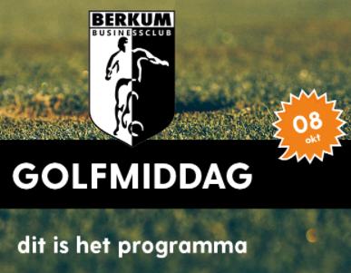 VV Berkum Golfevent 2021 - vrijdag 8 oktober
